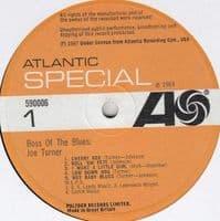 BIG JOE TURNER Boss Of The Blues Vinyl Record LP Atlantic 1967